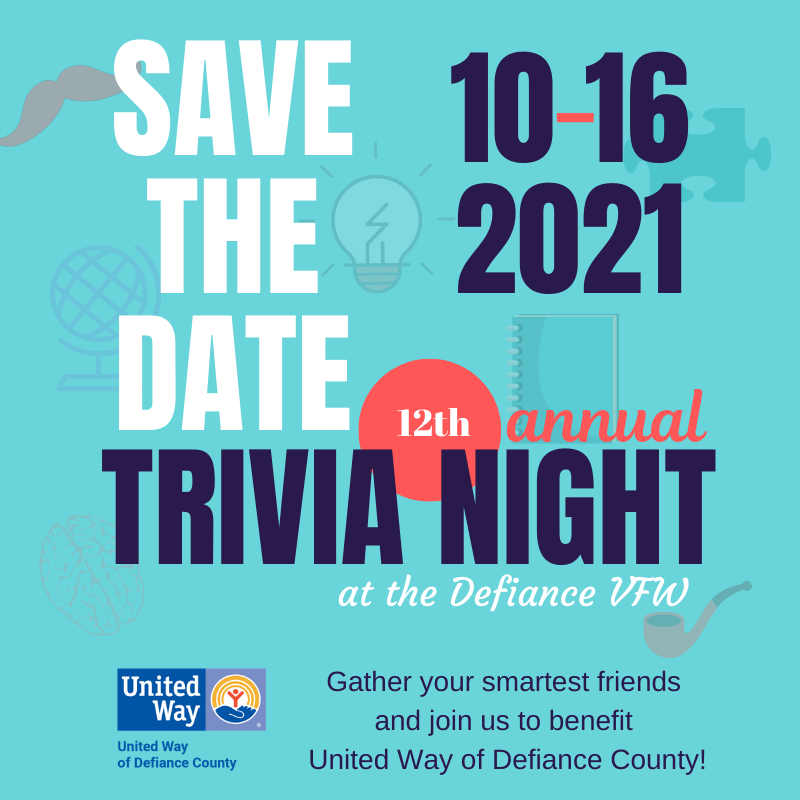 Annual Trivia Night Save the Date